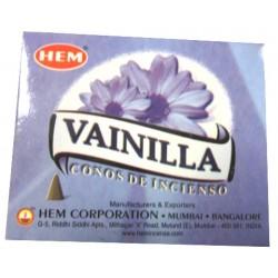 """Cônes vanille """"HEM"""""""