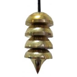 Pendule Enel ou pendule pile doré
