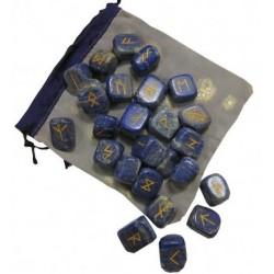 Runes lapis lazuli