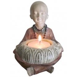 Moines porte bougies