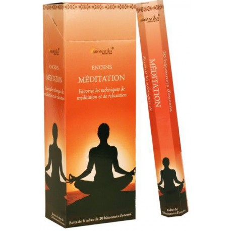 "Encens Méditation ""Aromatika"" Hexa"