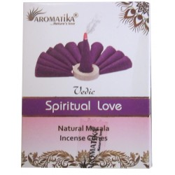 "Encens cônes Spiritual Love ""Védic Aromatika"""