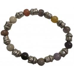 Bracelet Bouddha multipierres