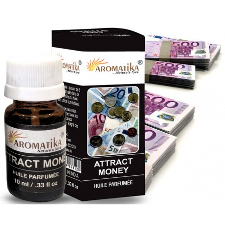 "ATTRACT MONEY (Attire l'argent) (Aroma Oil) ""Aromatika"" 10 ml"