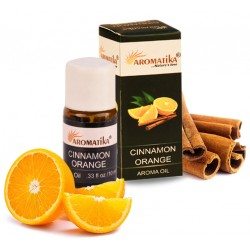 "CINNAMON ORANGE (cannelle orange) (Aroma Oil) ""Aromatika"" 10 ml"