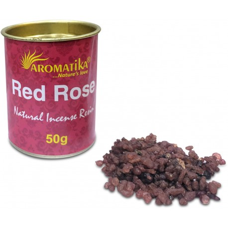 RED ROSE (rose rouge) résine naturelle 50 gr