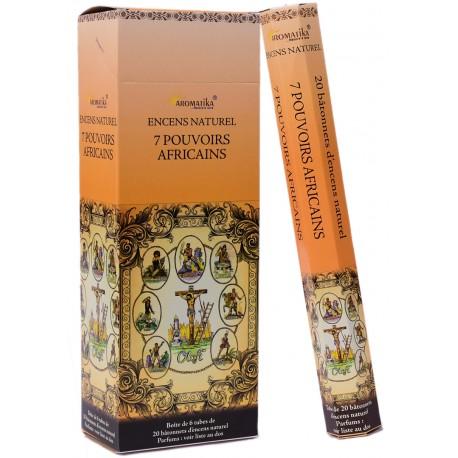 "Encens 7 pouvoirs africains ""Aromatika"" hexa"