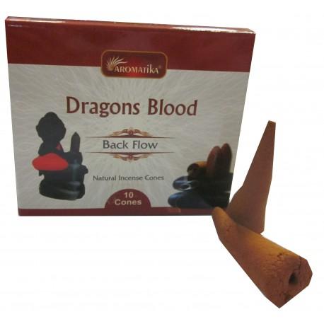 Encens cônes BACKFLOW Dragons Blood