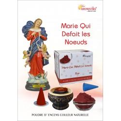 """Marie Défait les Noeuds """"AROMATIKA POUDRE 100 GR"""" (avec kit pour cônes)"""