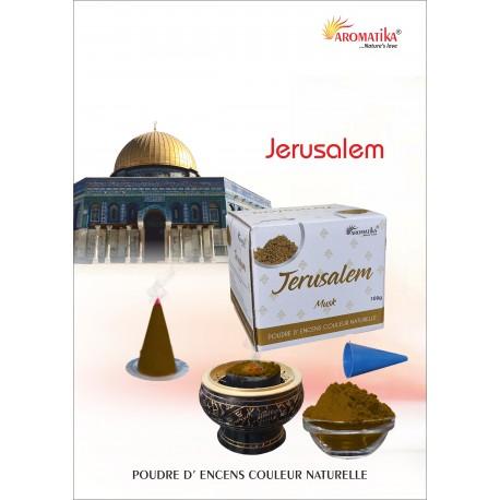 """Jérusalem """"AROMATIKA POUDRE 100GR"""" (avec kit pour cônes)"""