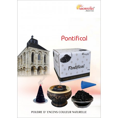 """Pontifical """"AROMATIKA POUDRE 100GR"""" (avec kit pour cônes)"""