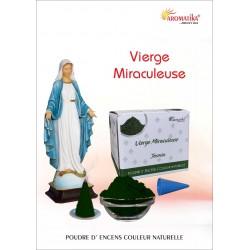 """Vierge Miraculeuse """"AROMATIKA POUDRE 100GR"""" (avec kit pour cônes)"""