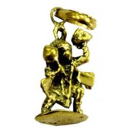Pendentif laiton Hanuman