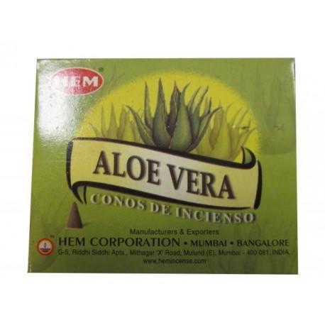 "Cônes aloé vera ""HEM"""