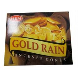 "Encens cônes pluie d'or ""HEM"""