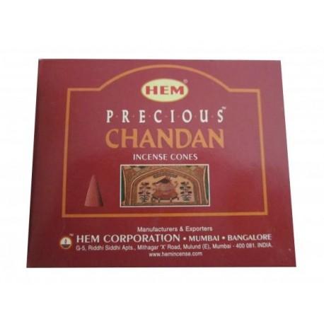 "Cônes précieux chandan ""HEM"""