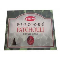 """Cônes précieux patchouli """"HEM"""""""